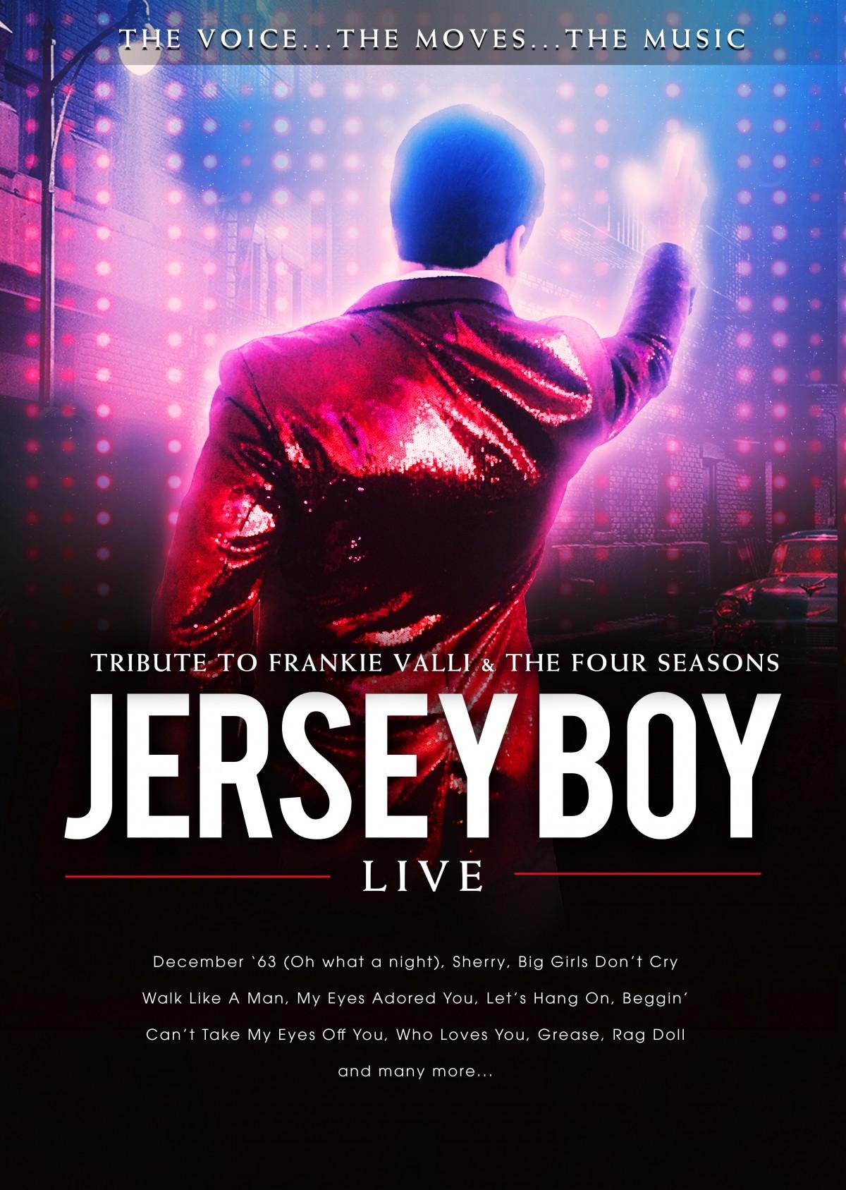 Jersey Boy Live | Frankie Valli Tribute Show | The Crossland