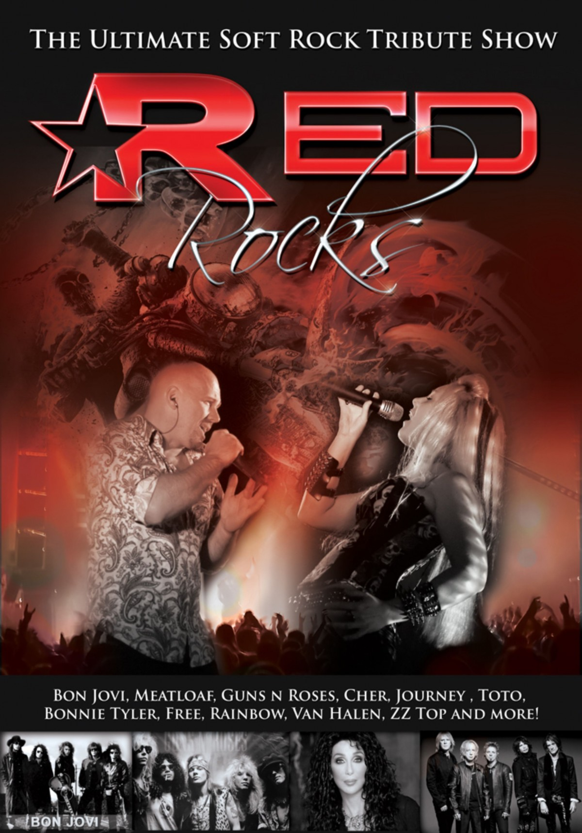 Red Rocks - Available to book from The Crossland Agency